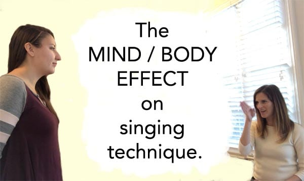 The Mind/Body Effect On Singing Technique - Before & After | Arden