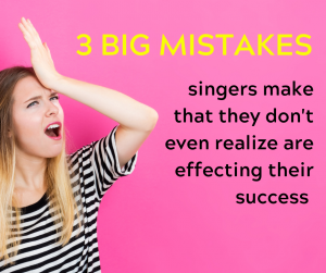 Singing Tips, Singing Technique, Sing Better, Become A Better Singer, Singing and Mindfulness, Improve My Singing, Mindfulness Technique for Singers, Sound Better Singing, Vocal Technique, Get Out Of My Head While Singing, Take My Singing To The Next Level, mistakes singers make